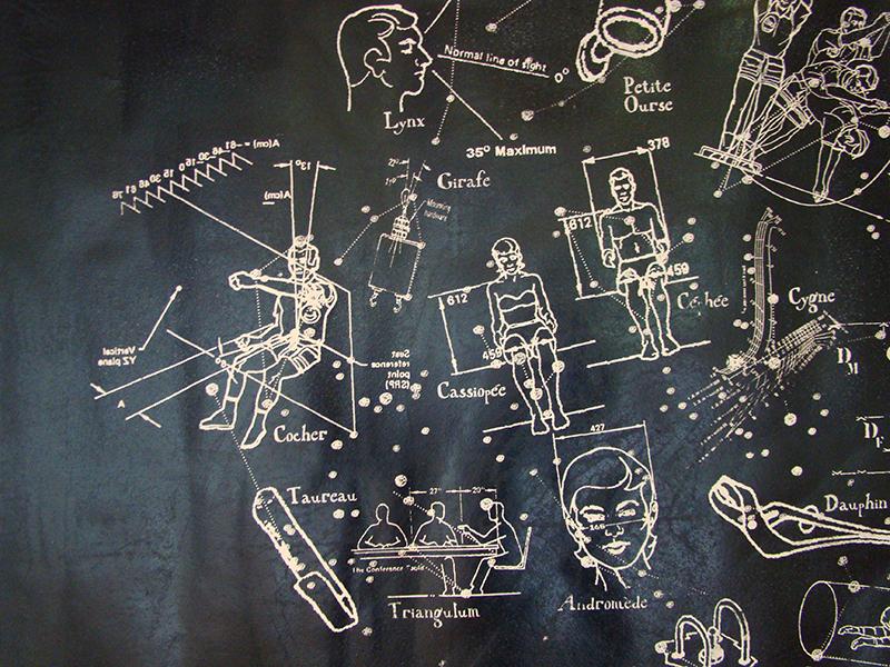 Boussole, machine pneumatique et écu de Sobieski