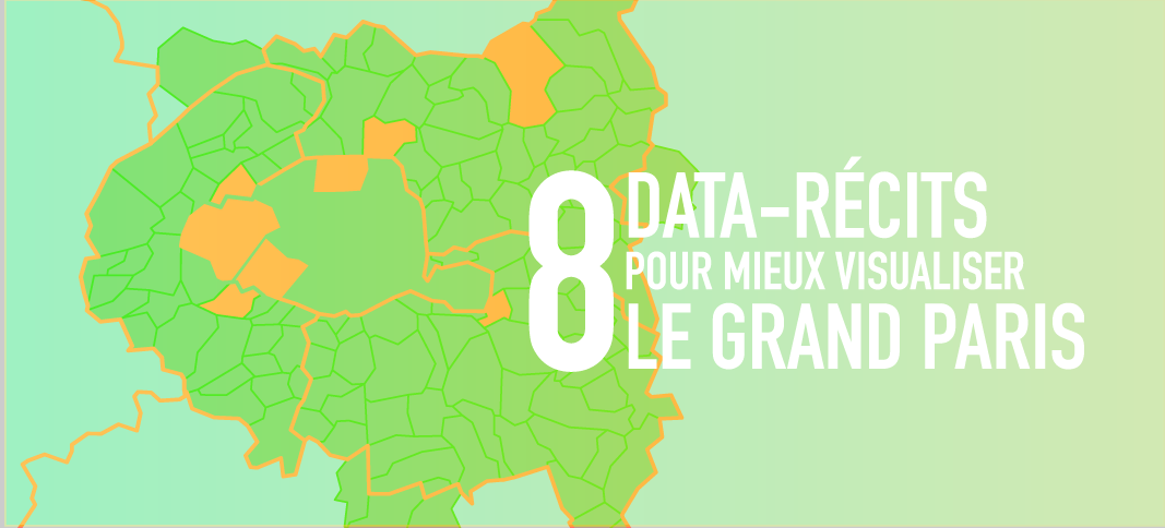 data visualisation sur le Grand Paris